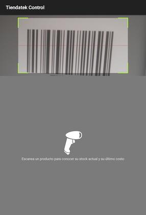 Punto de venta con escaner rápido y fácil
